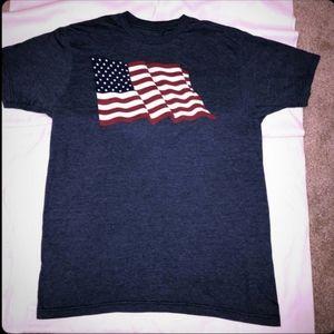 The Print Shop American Flag Graphic T-shirt